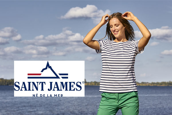 Streifenshirts von Saint James