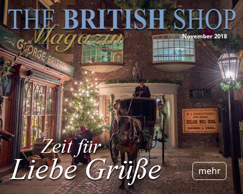 THE BRITISH SHOP Heftmagazin Ausgabe Mai 2018