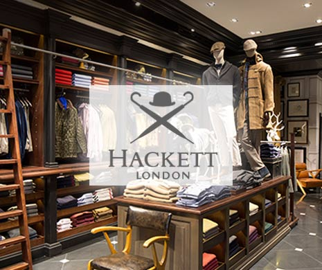 Herrenmode von Hackett London