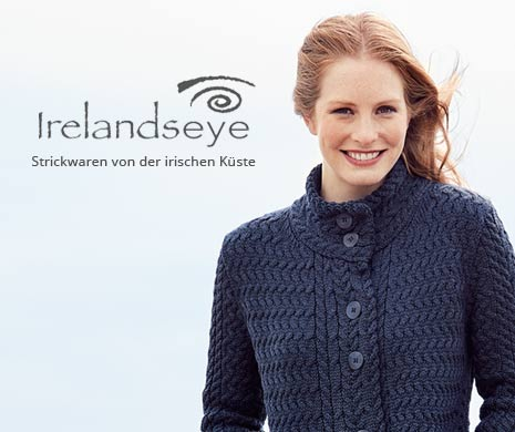 Irische Strickwaren von Irelands eye