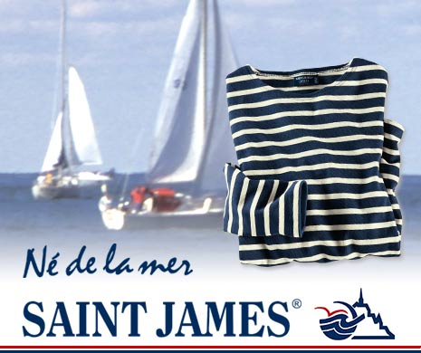 Bretagne-Shirts von Saint James